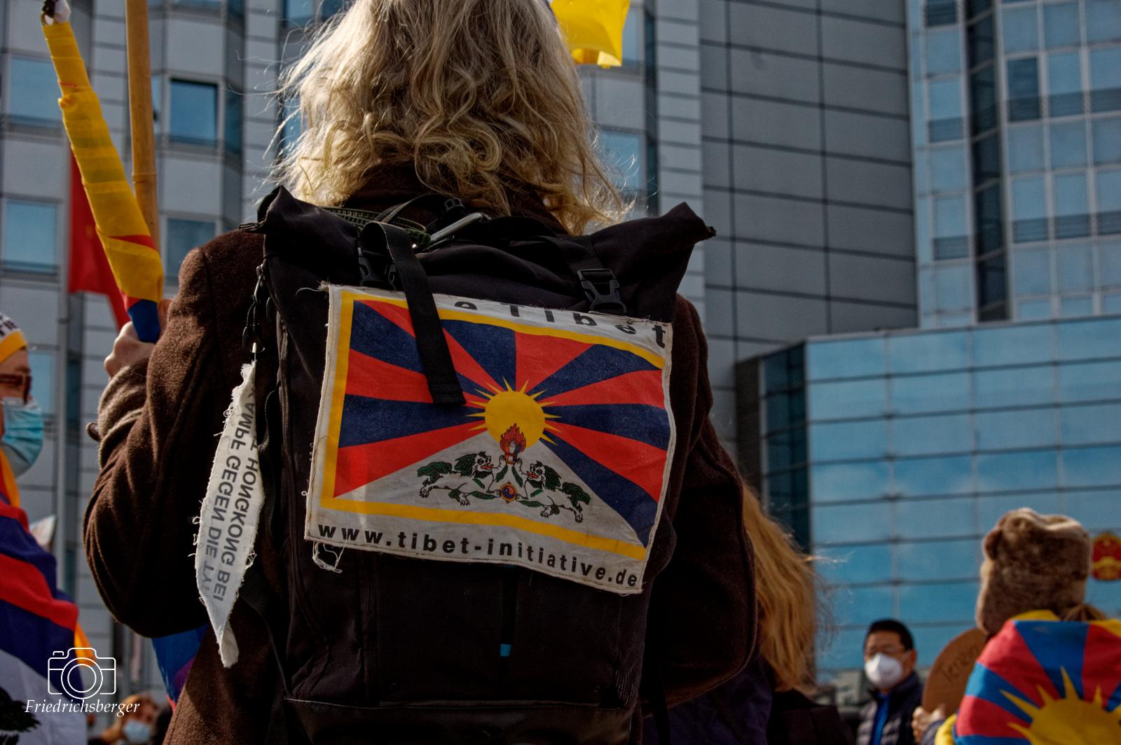 2021-03-10 - Berlin - Gedenk an die Niederschlagung des tibetischen Volksaufstandes am 10. März 1959 durch chinesische Truppen