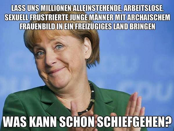 Merkel - was kann da schon schief gehen