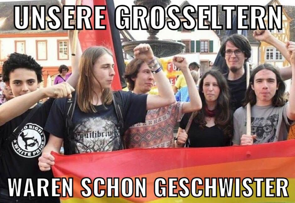 Antifa - Großeltern Geschwister